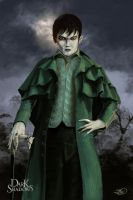 Barnabas Collins Mansion Painting by Tomahawk-Monkey