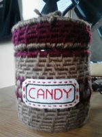 Basket candy jar commission by CrypticGrin