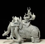 Vladof the Butcher and Mammoth by LocascioDesigns