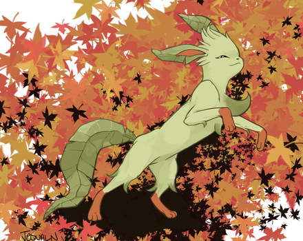 Among the Leaves by JequalNation