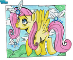 Fluttershy and the Fairies by PoneBooth
