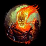 Super Movember: Ghost Rider by JamesBousema