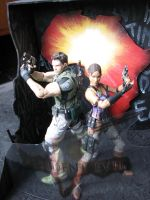 Resident Evil 5 Diorama 002 by ultimategallo