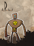 A Robot by Ionahipri