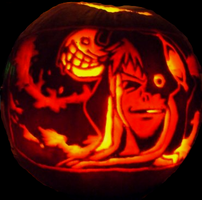 Medusa Pumpkin by Anime-Minis