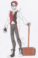 Male!Harley Quinn by The-Winter-Phoenix