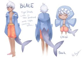 Blake the Shark by Shiranova