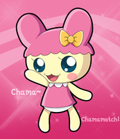 Tamagotchi Chamametchi by HeroineMarielys