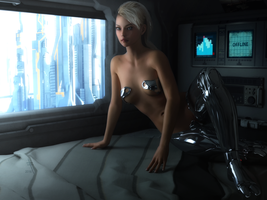 Gynoid 0x75 by TweezeTyne