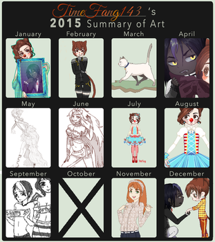 Summary of Art :: 2015 by Timefang143