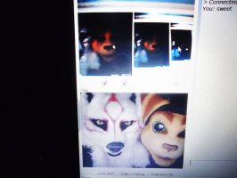 Furries on Chatroutlette... by Hyokenseisou-Cosplay