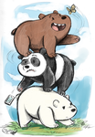 We Bare Bears by sharkie19