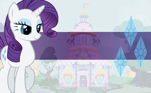 Rarity Wallpaper by mayosia