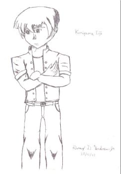 Eiji Kimiyama Sketch by Seizui