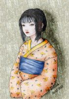little japanaise girl by Elisa-Erian