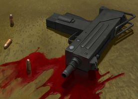 Ingram MAC10 by EthicallyChallenged