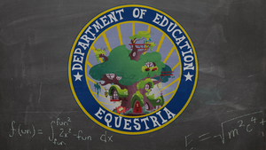 Equestria Department of Education by ddrkreature