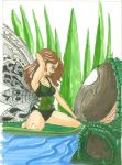 Gator and Fairy by caskippe