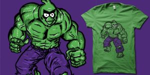 increadibly angry t shirt by biotwist