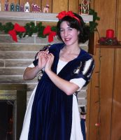 Regency Era Inspired Snow White by AriadneEvans