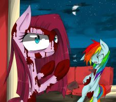 Chapter art Pinkamena fanfic by http://et95.devian by scootaloocuteness