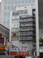 Air conditioning in Seoul by Fugufisch