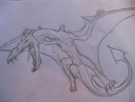 Realistic Aerodactyl by drgknot