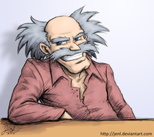 Casual Dr. Wily by JenL