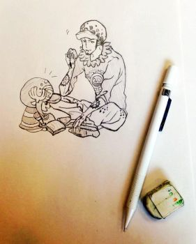 One Piece Doctors (Sketch) by 1121994
