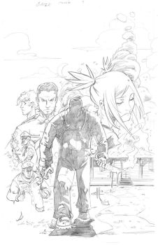 Gauze issue 1 cover redux by davehamann