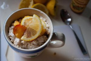 Coconut Brown Rice Pudding by linde-lazer