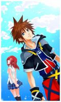 KH2- Wait for me by meru-chan