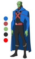 The DC Project: #10 J'onn J'onzz/Martian Manhunter by huatist