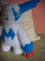 Zangoose plushie by Plush-Lore