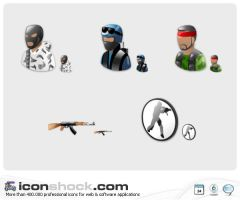 Counter Strike Vista icons MAC by Iconshock