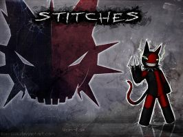 Stitches Wallpaper by Iron-Fox