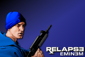 Eminem Marvel-style wallpaper by dpmm07