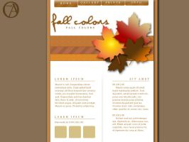 Fall Colors by nevermoregraphix