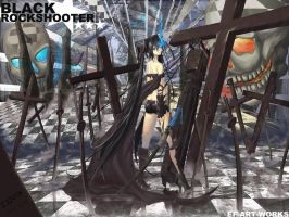 BLACK.ROCKSHOOTER by edenfox