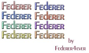 New Styles by Federer4ever