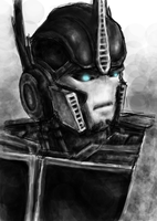 Prime - Optimus Prime by TsukiOokami