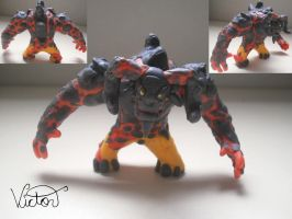 Lava giant by VictorCustomizer