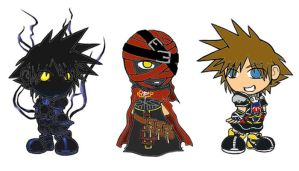 KH II Charms by MadMouseMedia