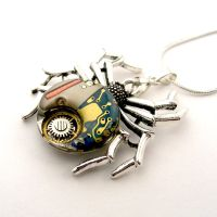 Watch Spider Pendant Quarts/Mechanical Watch parts by SteamSect