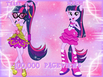 100,000 Pageviews by NatouMJSonic