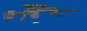 Blue Arms .380 SR m96 by andyshadow26