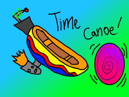 Time Canoe by Bradandez