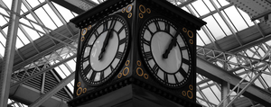 Glasgow Central Clock by Rosssc