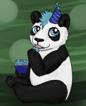 Birthday Panda by sorjei