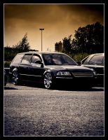 VW Passat II by Andso
